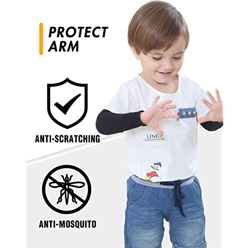 Boys UPF 50 UV Sun Protection Cooling Sleeves to Cover Arms for Girls Babies Toddlers Newbyinn Arm Sleeves for Kids Child 1 Pair// 3 Pairs Children