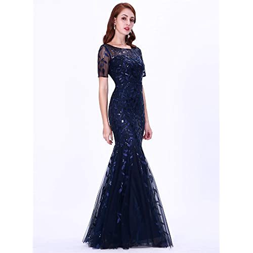 Ever-pretty Long Mermaid Evening Party Dress Cocktail Prom Gowns Plus Size 07707