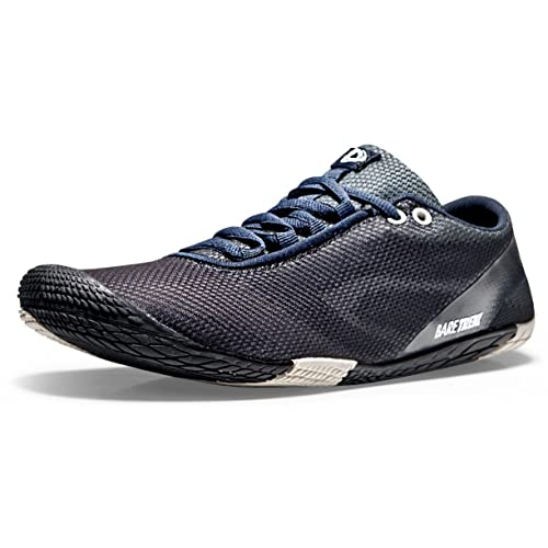 TSLA Mens Trail Running Shoes Non Slip Outdoor Walking Minimalist Shoes Lightweight Athletic Zero Drop Barefoot Shoes