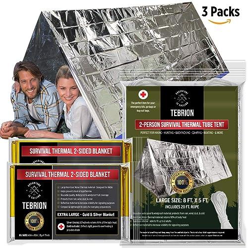 ESPACE-couvertures pour... 10 Pack Zenwells urgence Mylar Thermique Couverture vrac