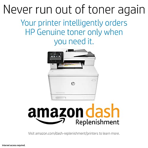 CF377A HP LaserJet Pro M477fnw All-in-One Wireless Color Laser Printer with Built-in Ethernet Dash Replenishment ready