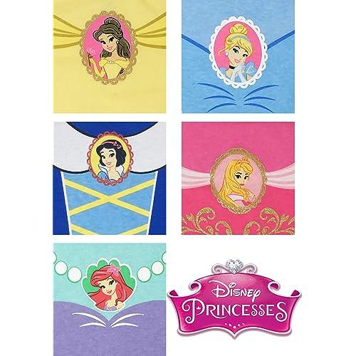 Disney Princess Baby Girls/' 5 Pack Bodysuits Belle Cinderella Snow White Aurora