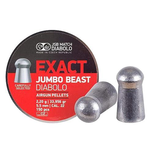 JSB EXACT JUMBO .22  PELLETS FT HFT EXACTS 5.51 5.52