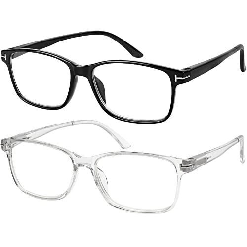 2.0 TV Computer Gaming Reflex Women Men Reading Glasses Anti Glare 0.5 1.5