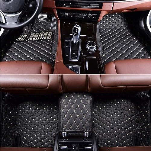 Beige Big Hippo Car Floor Mat Compatible Nissan Altima 2007-2017 Leather Front/&Rear Waterproof Auto Floor Mat Carpet-All Weather Protector Mat 3 Piece Set