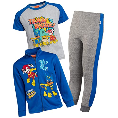 Rock N Rail Nickelodeon Thomas The Train Little Boys 2-Piece Fleece Jogger Pant Set with Pullover Hoodie Size 3T