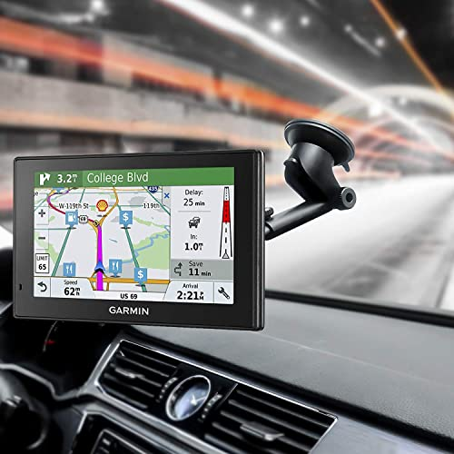 MTDK Car Large Suction Cup+Dash Mount Disc For Garmin RV//Dezl 760 LM LMT LT GPS