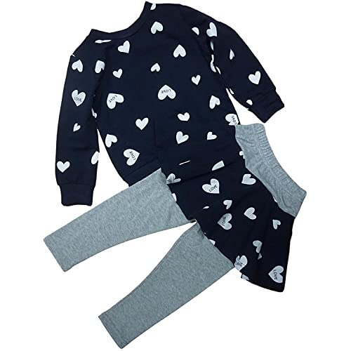 BomDeals Adorable Cute Toddler Baby Girls Clothes Set,Long Sleeve T-Shirt Pants Outfit