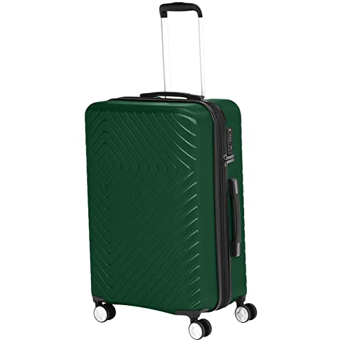TravelCross Toulon Expandable Lightweight Hardshell Spinner Luggage Red, 20