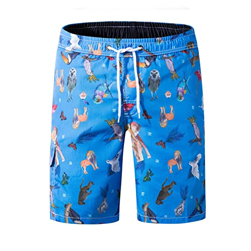 Mens Swim Trunks Quick Dry Beach Bathing Suits Party Board Shorts