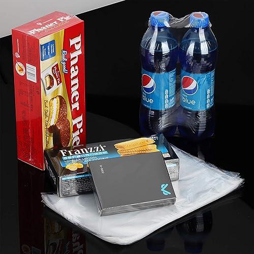 clair pack 200 100 Guage PVC Heat Shrink Wrap Bags 4x6 pouces inodore