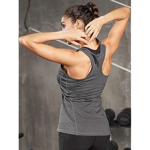 Cadmus Workout Racerback Yoga Tank Top for Women