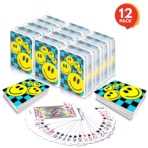 Toysmith Celestial Mini Playing Cards Complete Gift Set Party Bundle 4 Pack