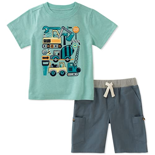 Kids Headquarters Boys 2 Pieces Hooded Shorts Set