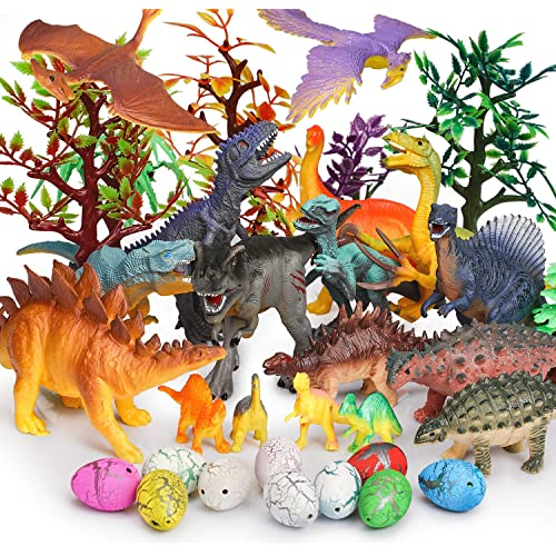 Conomus Birthday Party Favors Carnival prizes for Kids,50PCS Mini Dinosaur Toy Assortment for Classroom /…