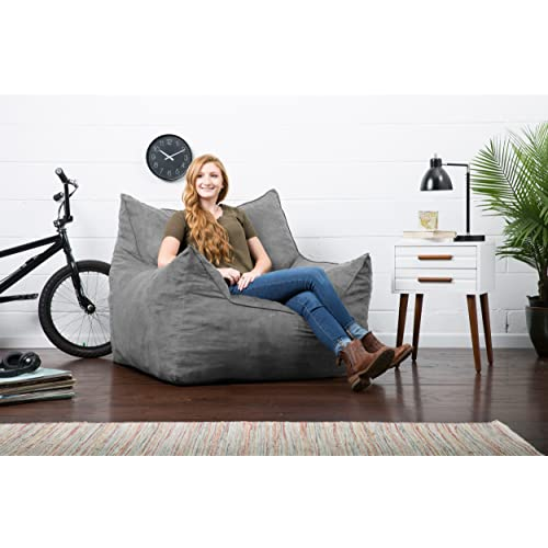 Admirable Buy Big Joe Imperial Lounger In Comfort Suede Plus Cement Alphanode Cool Chair Designs And Ideas Alphanodeonline