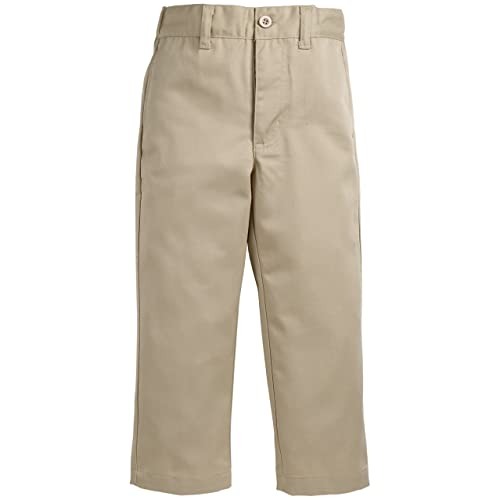 S 8 Essentials Flat Front Uniform Chino Short Light Khaki