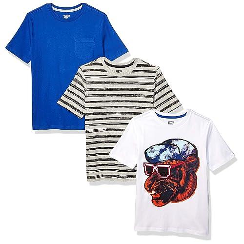 Brand Spotted Zebra Boys Toddler /& Kids 2-Pack Long-Sleeve Henley Shirts