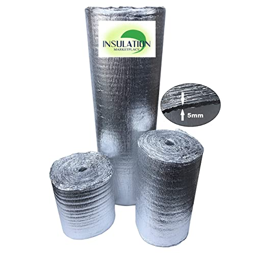 """24/""""x25/' R8 USEP Reflective Insulation Roll Foam Core Radiant Barrier 5MM AD5"""