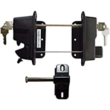 Nationwide Industries NW38310Q Contemporary Post Latch Zinc Plated Black