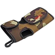 Navitech Black Protective Portable Handheld Binocular Case and Travel Bag Compatible with The Kowa BD32-10XD Prominar 10x32 with Belt and Shoulder Strap