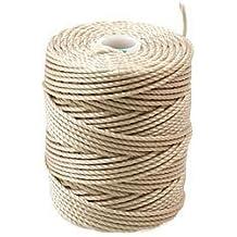 C-LON Bead Cord Cocoa CLC-CO 86 YD Bobbin CLON Beading Cord