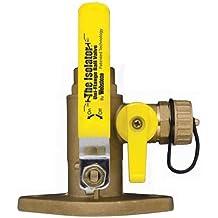 1 Size 1 x 1 x 1 1 Size 1 x 1 x 1 Brass Webstone 1420540 40414 Threaded Isolator Flange with Drain
