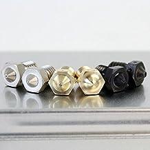 E3D V6 Nozzle 3DMakerWorld Standard Brass : 0.80mm for 1.75mm filament