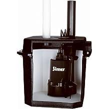 BurCam 300622 Submersible Effluent Pump 3300 GPH Max 1.5 Discharge 1//2 hp Vertical Switch