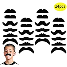 Amscan 70s Party Mustaches 391626 Multicolor 10 Ct. One Size