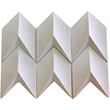 pinkiemold Triangular Cement Wall Brick Mold Concrete Tile Form Simple Design Wall Decoration