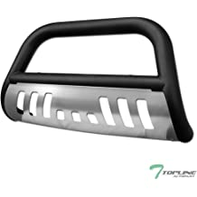 HS Power Chrome HD Heavy Duty Stainless Steel Bull Bar 1999-2007 for Ford F250//F350//F450//F550 Superduty Brush Push Front Bumper Grill Grille Guard