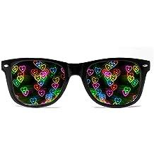 GloFX Orange Color Therapy Glasses Mood Sunglasses Feeling of Happiness /& Joy