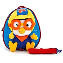 PORORO Face Safety Harness Backpack Toy Character Kids Backpack Bag PR089