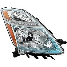 Passenger Side-OEM Left Xtune HD-JH-TPRI06-OE-R Headlight Toyota Prius Halogen 06-09 HID e Don/'t fit Models Built Before 11//06//06