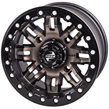 4//156 Tusk Nebo Beadlock Wheel 14x7 5.0 2.0 Matte Black for Polaris RANGER 570