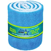 Made in USA 20 High x 25 Wide x 5//8 Deep Polyester Air Filter Paint Arrestor Pad 2 Cases 99.52/% Capture Efficiency 12//Case