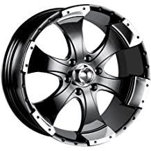 Pacer 83B FWD BLACK MOD Wheel with Painted Finish 13 x 5.5 inches //4 x 3 inches, 35 mm Offset