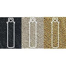 J95//13 Miyuki DB026 Delica Size 11//0 Seed Beads Metallic Dark Steel 8.5g