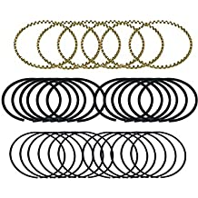 compatible with 1989-1994 FORD INTERNATIONAL 445 7.3L OHV V8 IDI DIESEL NON-TURBO ENGINETECH M41118STD PREMIUM DUCTILE TOP PISTON RINGS SIZE:STD