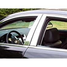 Fender Trim For Honda Civic Mirror Polished Stainless Steel Wide Width Set Of 4 QMI 310322