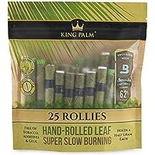 Authorized Seller Size 1 Packs 25 Rolls MINI FREEBIES 25 x King Palm Wraps