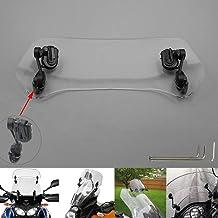 Motoparty Universal Motorcycle Exhaust Muffler Pipe Leg Protector Heat Shield Cover For KTM Honda Suzuki Yamaha Kawasaki Ducati HP4 Aprilia BETA Dirt Bike Exhaust Heat Shield Cover,BLACK SHORT STYLE