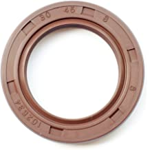 Metal Case w//Viton Rubber Coating EAI VITON Oil Seal 25MM x 32MM x 6MM TC Double Lip w//Stainless Steel Spring