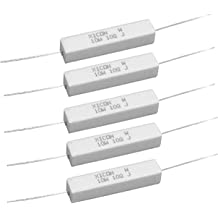 390 Ohm 1//4 Watt 5/% Carbon Film Resistor 100 Piece Lot 291-390-RC