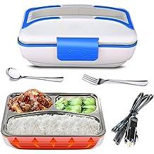 Électrique Portable Boîte Déjeuner en acier inoxydable alimentaire Heater Warmer Pour Bureau à Domicile