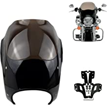 Vector Batwing Fairings F4-2 Harley-Davidson Road King fiberglass batwing fairing with 2x6x9 speaker cutouts