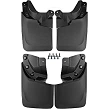 2019 Classic Husky Liners 58176 Black Front /& Rear Mud Guards Fits 09-18 Ram 1500 Without OEM Fender Flares 4 Pack
