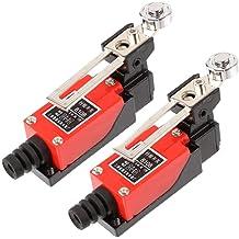 tatoko SMD Chip Test Lead Meter Probe Tweezer Banana Plug for Multimeter Capacitor Resistance Tester 2PCS
