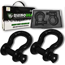 Heavy-Duty Hauling up to 6500 Pounds ABN Tow Shackle 5//8in D-Ring for Towing Off-Road Recovery